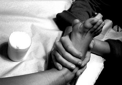 blanco negro masaje nuru